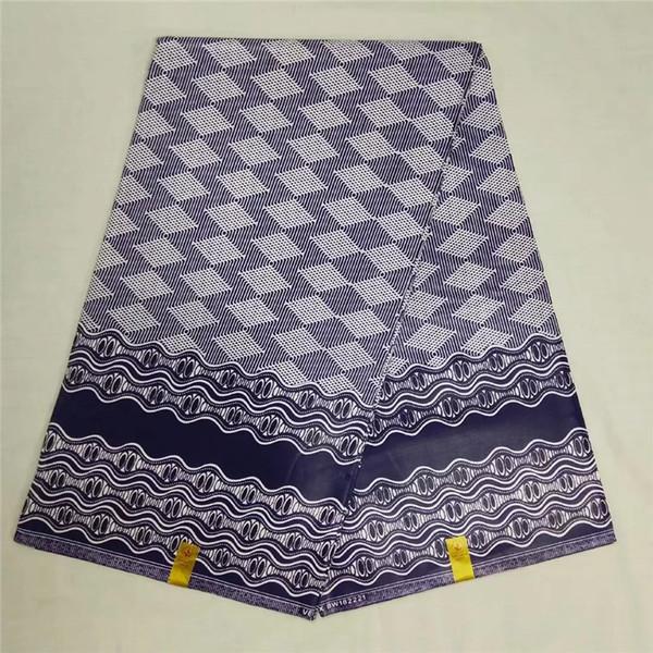 Afrika afrika kumaş baskı kumaş of 6 metre toptan ucuz balmumu java balmumu Ankara elbise için NA031353