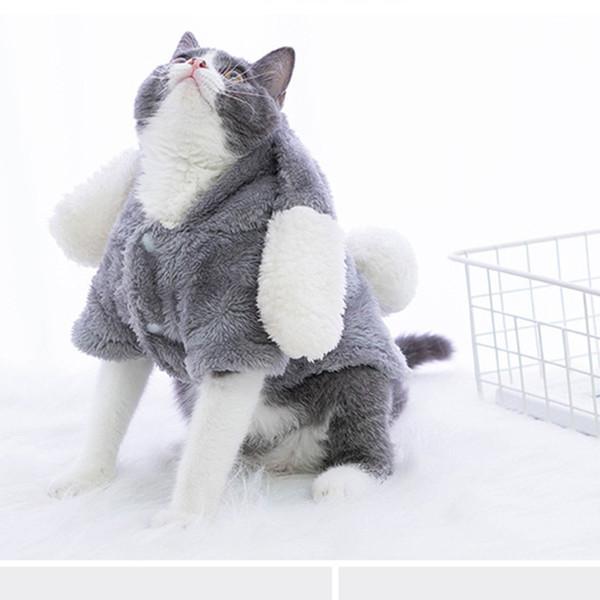 2019 Estrella Pet Cosplay Coniglio Abiti Vestiti per cani e gatti Gattini Costumi con soffici orecchie orecchie Vestiti Spedizione gratuita OEM è benvenuto