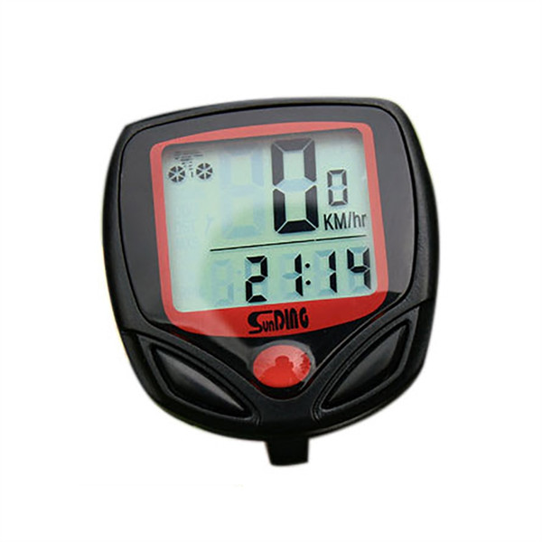 Waterproof Digital LCD Bicycle Computer Cycling Bike Odometer Speedometer 14 Functions Stopwatch Distance Meter 548B #562181