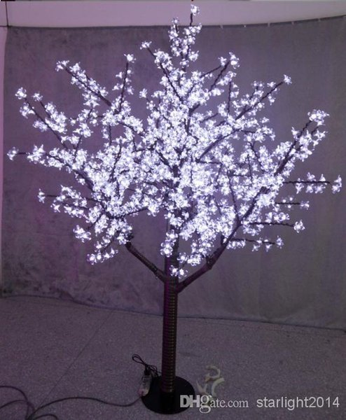 LED Christmas Light Cherry Blossom Tree 480pcs Bulbs 1.5m/5ft Height Indoor or Outdoor Use Free Shipping Drop Rainp