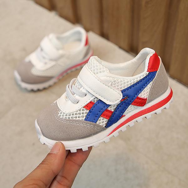 Красные чистые ботинки