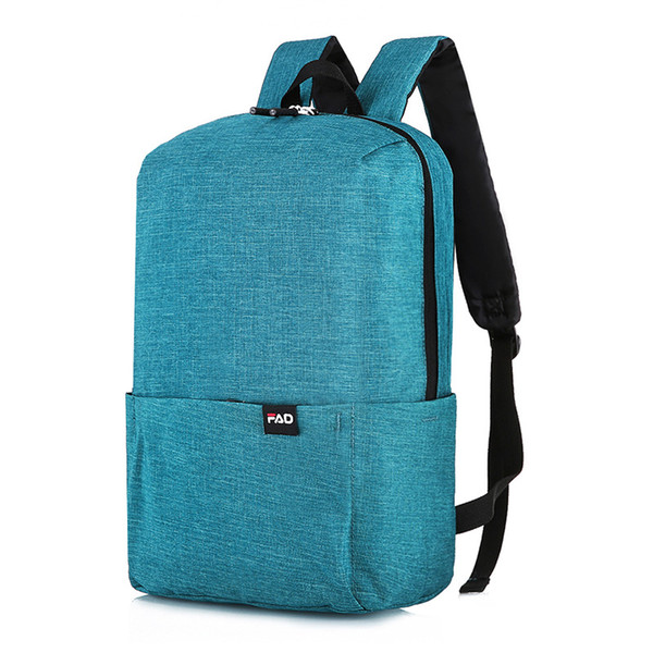 Korean Simple Canvas Sports Gym Backpack Male/Female School Training Backpack For Teenagers Travel Shoulder Bag Rucksack Mochila