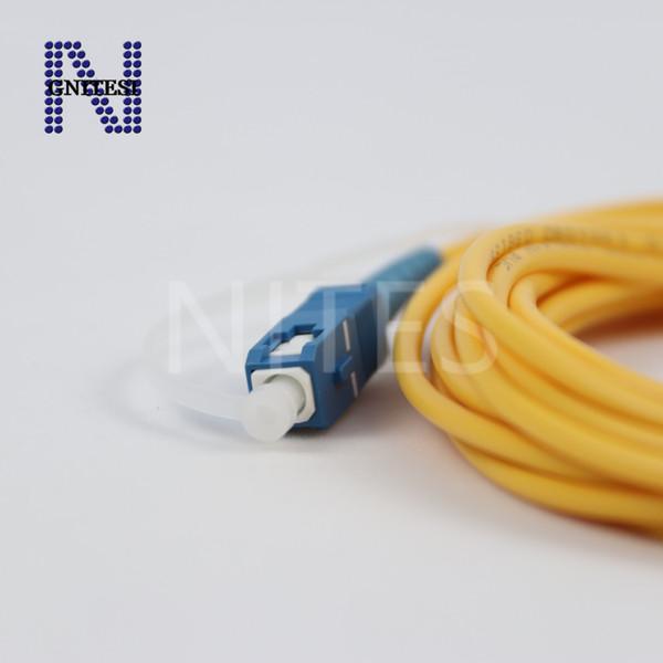 Envío gratis! Original nuevo cable de cable de conexión de fibra óptica SC / APC-SC / UPC 3 mm de fibra óptica, 5 m / 10 m