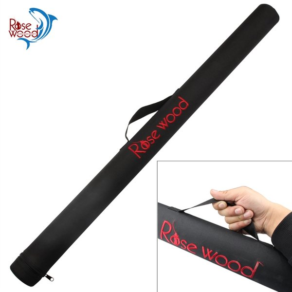 RoseWood Brand Water Proof Canvas Fishing Rod Tube PVC Fish Bag 73cm 79cm Portable Fishing Carry Bag Large #221733