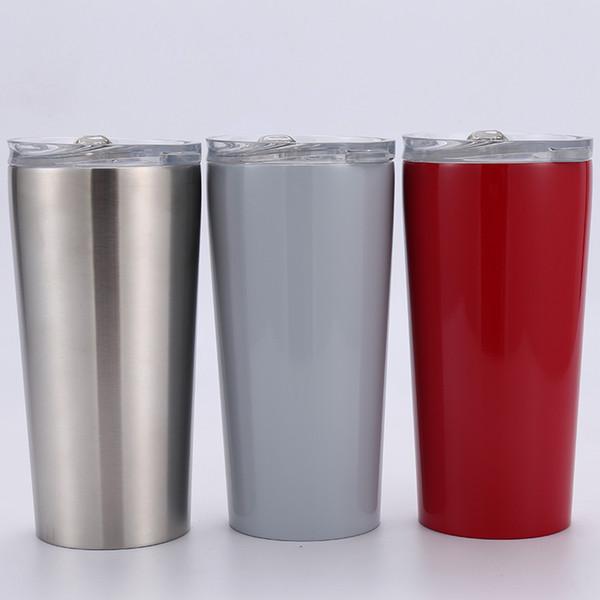 Tasse de café de tasse de vin de l'eau de tasse de vin de l'eau isolée par vide en acier inoxydable Options modernes de gobelet moderne de 16 onces multicolore