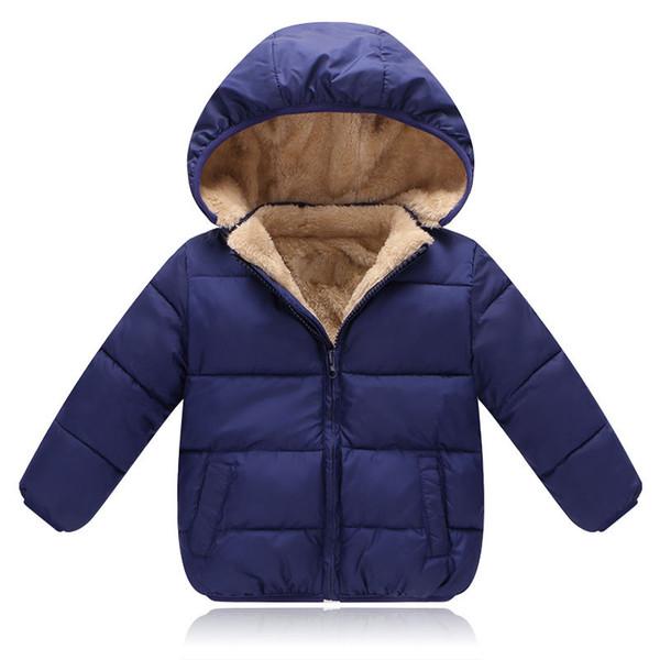 Meninos casacos de inverno crianças casuais grossa de veludo para baixo parkas para bebés meninos meninas crianças esportes hoodies roupas criança jaquetas outerwear outfit