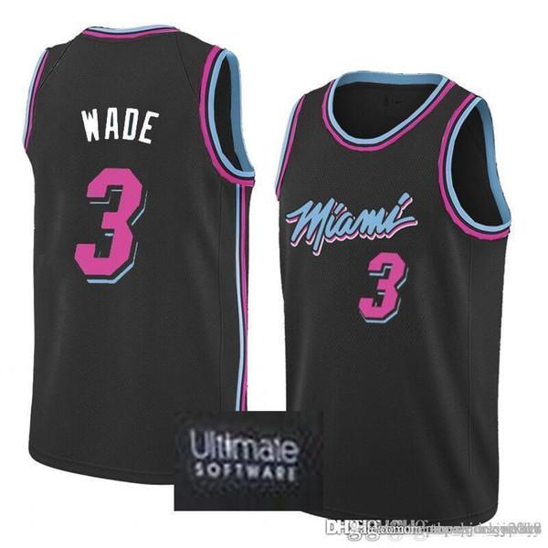 huge selection of 0866b 2cded 2019 Heat 3 Dwyane # Wade City Jersey 25 Derrick # Rose Timberwolves 23  Jimmy # Butler Joel 21 Embiid 20 76ers Jerseys From Flyingjersey88, $22.04  | ...
