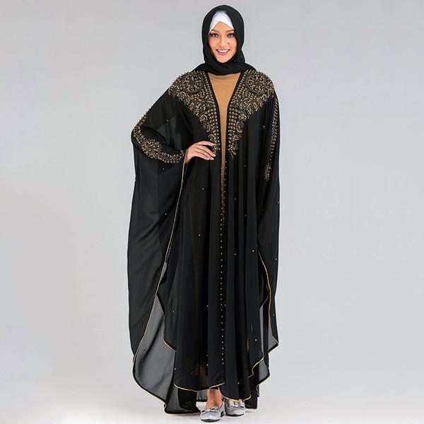 abaya noir One Size