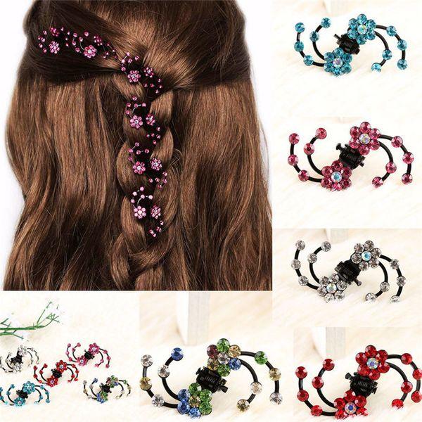 Crystal Bridal Hair Claws Barrette Hairpins Hair Clips Accessories For Women Girls Hair Clamp Ornaments Hairclip