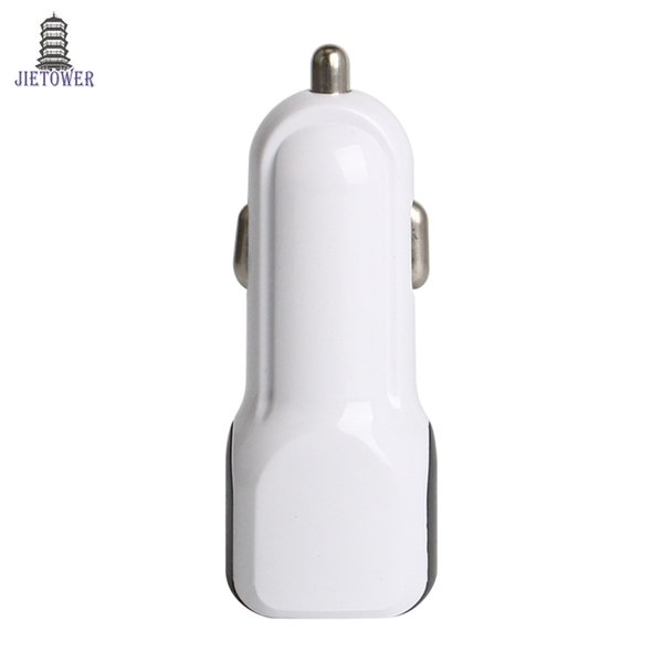 Universal 5V 1A Car Charger 2 Ports USB Car Charger Adapter for Samsung iPhone 7 6 6S for Xiaomi Huawei 100 pcs/lot