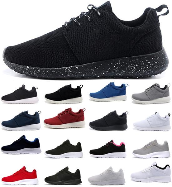top popular 2019 Tanjun 3.0 London 1.0 men women Run Running Shoes black low Lightweight Breathable London Olympic Sports Sneakers Walking Trainers 2019