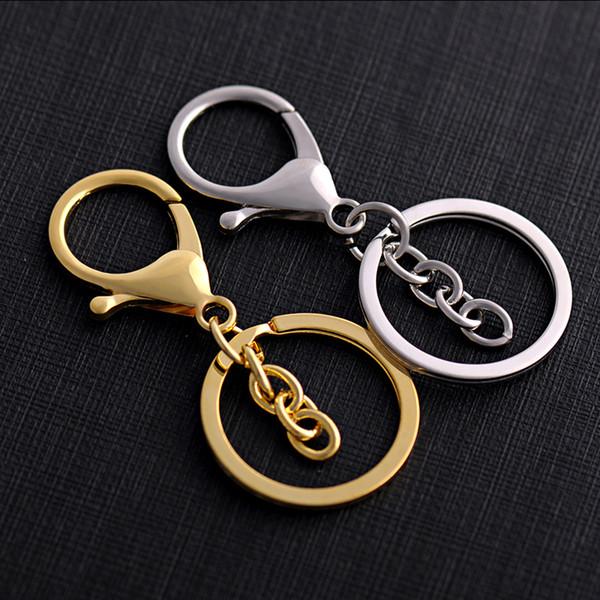 Beliebte minimalistische Schlüsselbund Metall Karabinerverschluss Haken Schlüsselbund Schlüsselanhänger Gürtel Schmuck unisex 2019 neue Accessoires