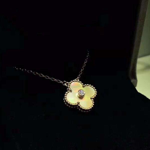 Nombre de la marca Nueva llegada material de latón de calidad superior flor colgante con diamante para las mujeres collar colgante de extensión regalo de la joyería PS609