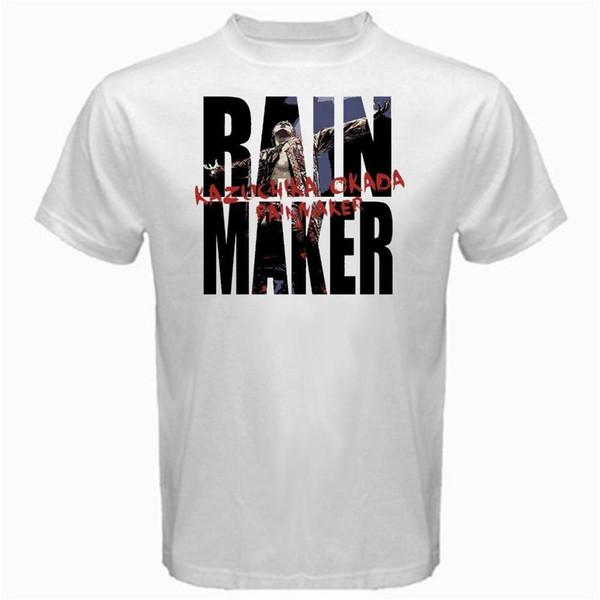 T Shirt Making Short Sleeve Summer Crew Neck Mens Rainmaker Kazuchika Okada Japan Pro Wrestling Korm Tshirt White Tee Shirt