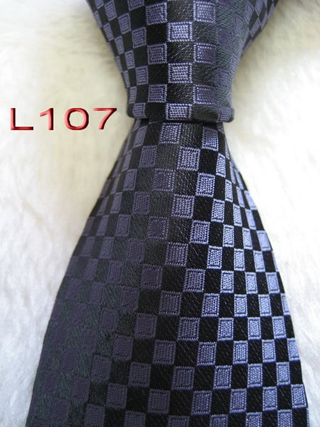 L107 # 100% Ipek Jakarlı Dokuma El Yapımı erkek Kravat Kravat