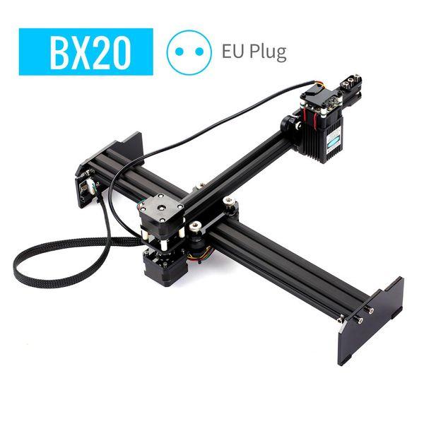 top popular 20W Laser Engraving Machine Mini Desktop CNC Laser Engraver Printer Portable Household Art Craft DIY Engraving Cutter 2021