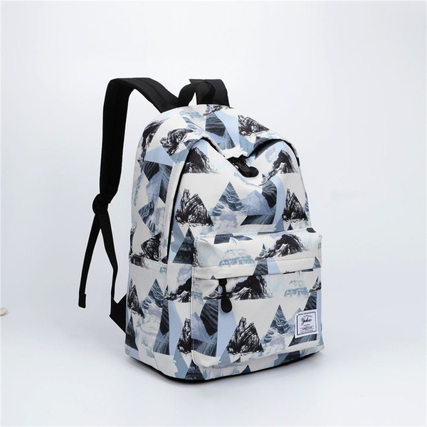 new arrival students backpack for boys and girls hot sell high quality canvas school bag multi-style unisex backpack