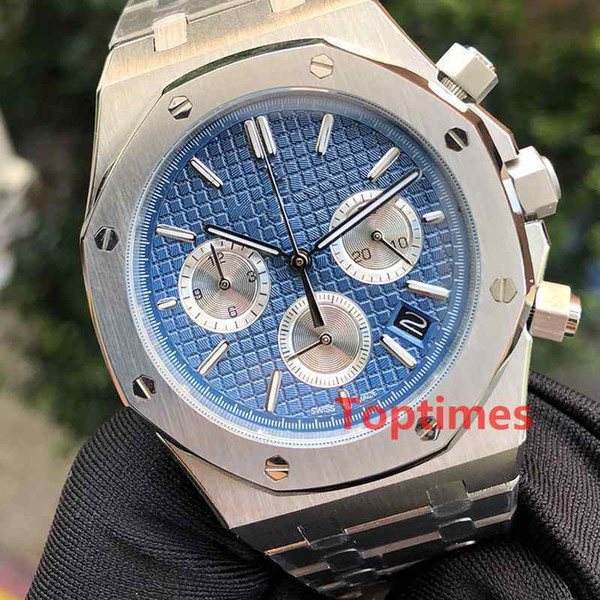 Montre de luxe Montre de luxe Montre en acier inoxydable de luxe en acier inoxydable Design Hommes Royal Oaks Hommes Quartz Montres