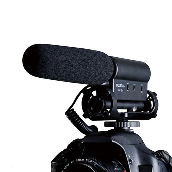 Professional SGC-598 Condenser Microphone Interview Video Recording Mic for Nikon Canon DSLR Camera Vlog Mic sgc 598 Filmmaking