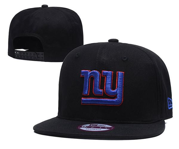 2019 Spor sunhat şapkalar Snapback NY Giants Ayarlanabilir Ayarlanabilir Beyzbol Deri Kemik erkek kadın snapbacks Yüksek Kalite Spor h
