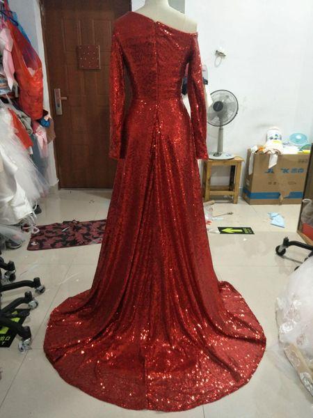 2019 коктейль последние красные шифрования заказать блестки Вечернее платье Yousef aljasmi Ким Кардашьян Empire V-образным вырезом без рукавов плиссированные длиной до пола