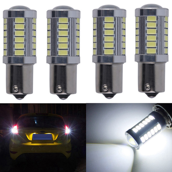 4x 1156 BA15S Led lamp For Cars Brake Light Turn Signals Lamp Reverse Light Parking Rear Bulb Leds Old designation