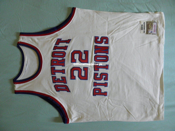 Mitchell Ness M&N Dave Debusschere Top Jersey 90s USA #22 Mens Vest Size XS-6XL Stitched basketball Jerseys Ncaa