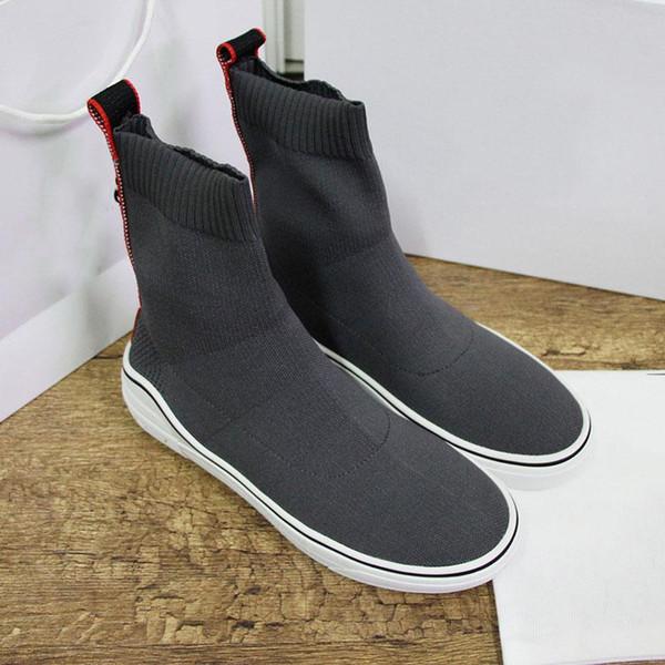 2019 Sock Designer Shoes New Mens Speed Paris Famous Designer Sneakers White letter best Quality Designer High Sock Shoes For Women Gift d5