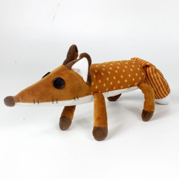 45cm The Little Prince Fox Plush Dolls Toy le Petit Prince stuffed animal plush education toys for baby kids Birthday/Xmas Gif C23