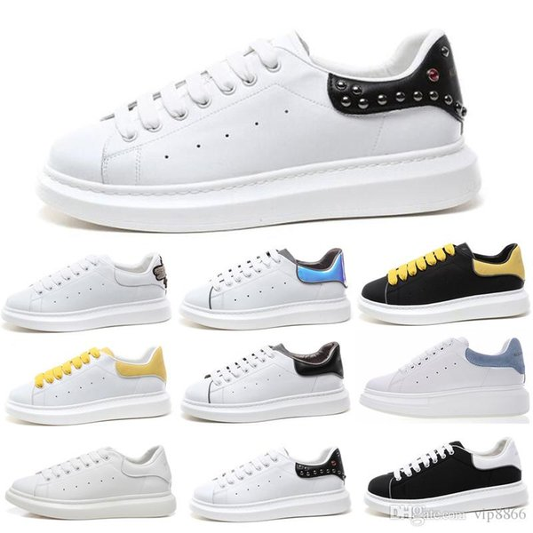 2019 Luxury Black White presto triple Casual Shoes Lace Up Designer Comfort Girl Women Sneakers Leather Shoes Men Womens Sneakers Size 13