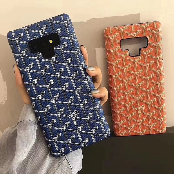 For Samsung Galaxy Note 9 8 luxury Classic vintage Hard Phone case for Samsung s8 s9 plus iphone xs max x Back cover