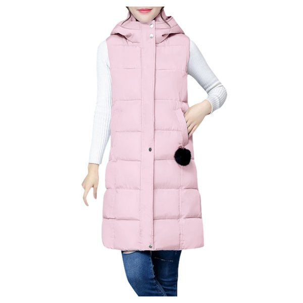 brand winter jacket women fashion hooded sleeveless sweater vest blouse shirts parkas coat loose sweatshirt casacas para hombre