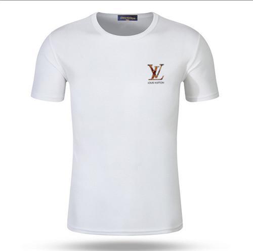 2019 moda rahat erkekler gevşek pamuklu Tişört, yüksek dereceli tuğrası baskı serisi, çok renkli isteğe bağlı toptan indirim fiyat