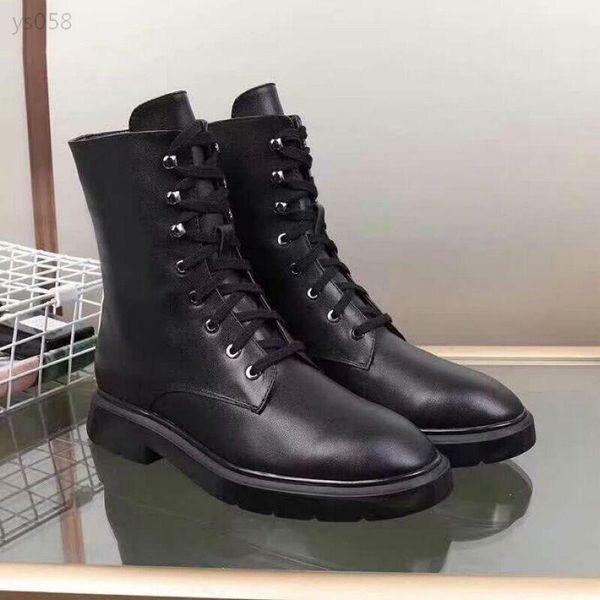 2019 Lussuoso Martin Boots femminile di fascia alta moda Locomotiva BootsStar Con L'e americani in stile europeo Il Cavaliere Stivali
