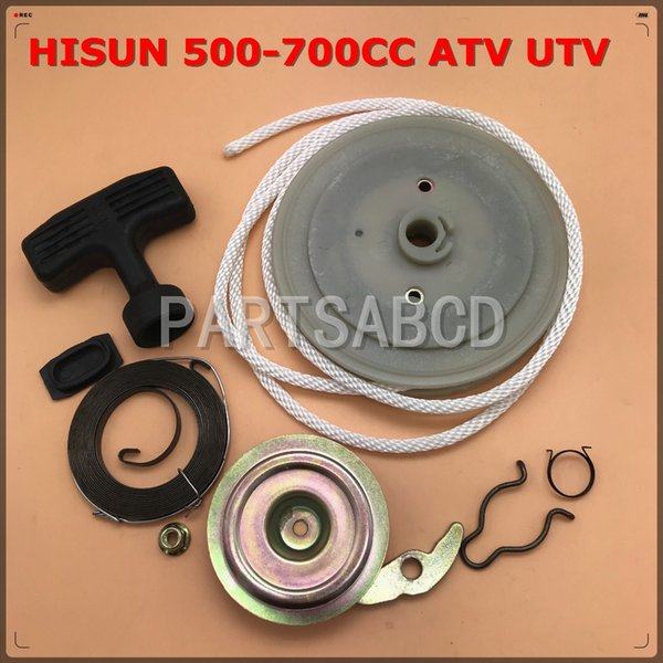 HISUN 500CC 700cc HS500 HS700 MASSIMO ATV UTV Recoil avviamento a strappo kit di riparazione parti
