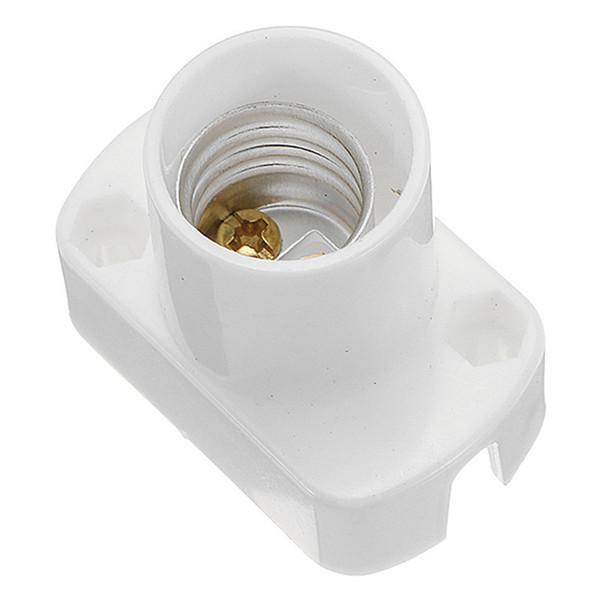 Smuxi E14 Light Lamp Holder Socket White Rectangle Lamp Holder For Led Light Bulb Ac250v Lampholder
