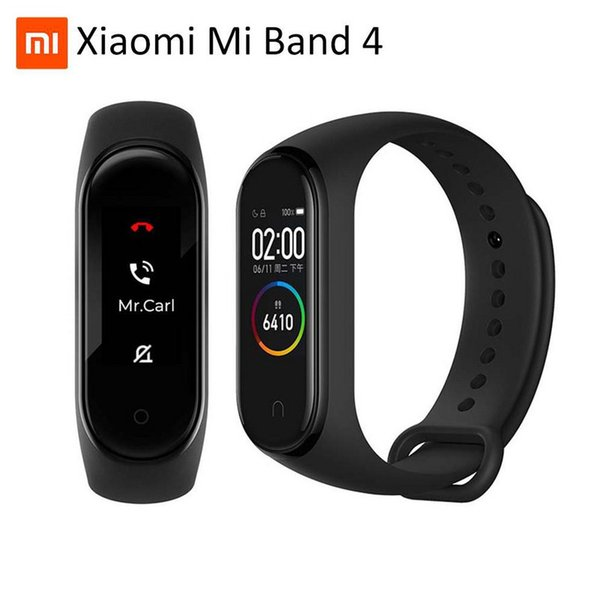 Горячий Оригинал Xiaomi Mi Группа 4 3 Смарт браслет Часы браслет Miband 4 OLED Сенсорная панель Sleep Heart Rate Monitor Fitness Tracker