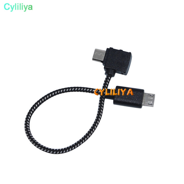 Micro USB Type C Cable for DJI SPARK MAVIC PRO drone For DJI Mavic Part4 RC Cable Reverse Micro USB connector