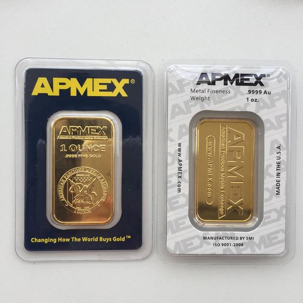 1 oz Apmex Bar