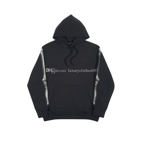 Luxury Bones Arm Hoodies Men Designer Brand PALACES Hooded Jacket High Quality Fashion Hip Hop Street Sweatshirts