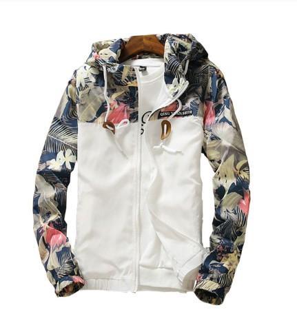 men's hooded jackets spring autumn causal windbreaker men basic jackets coats sweater zipper lightweight jackets bomber style size m-4xl