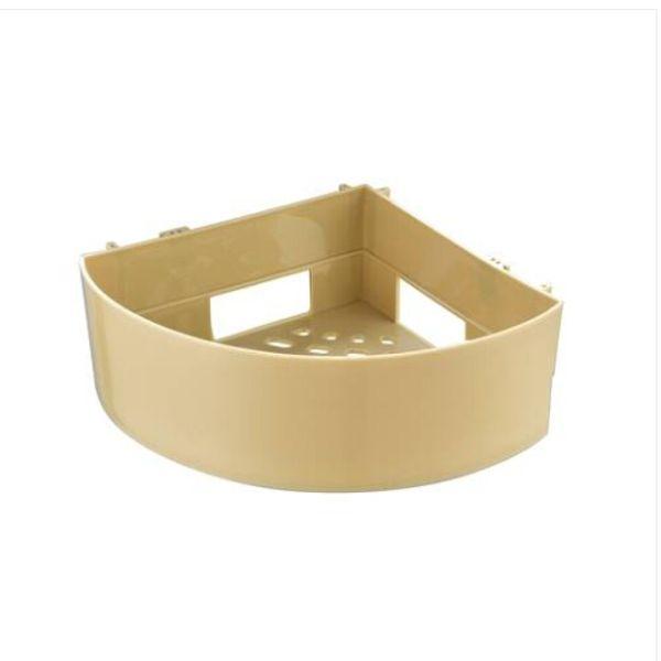 HOT Sales Free Shipping Wholesales Bathroom Shelf Wall Mounted Bathroom Basket Organizer Self Shower Corner Shel