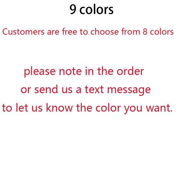 NO7 Choose 9 colors