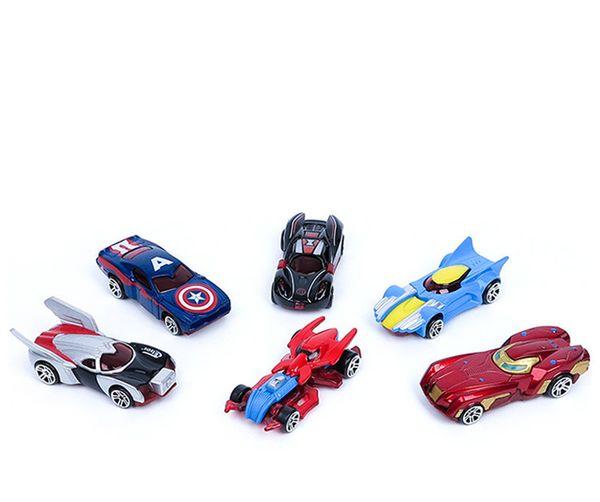 New 4 Pack Hot Wheels Mini Racing Modelo Brinquedos Brinquedos Alloy deslizante bolso pequeno Sports Car