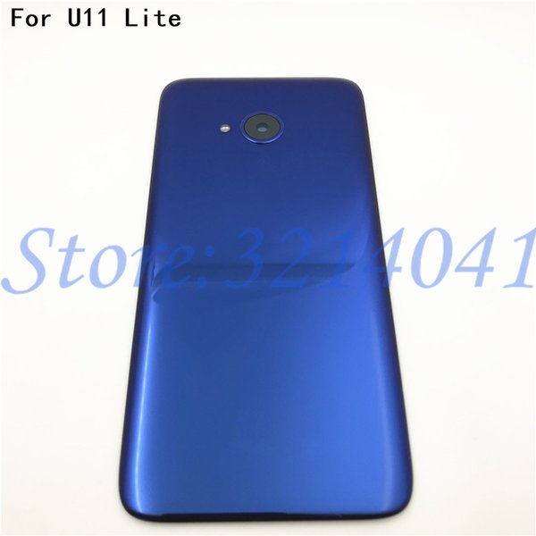 "Original 5.2"" For HTC U11 Lite Battery Cover With Camera Lens Glass Back Cover Housing Case Door For HTC U11 Lite With Logo"