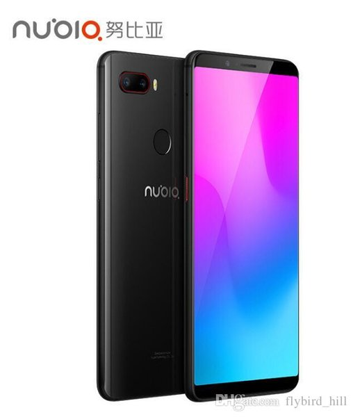 ZTE Nubia Z18 Mini 5.7 inch Android 8.0 Face ID Smart Phone 6GB RAM Octa Core Snapdragon 660 AIE Dual Rear Camera 24.0MP+5.0