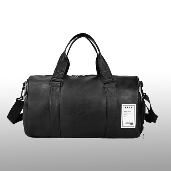 Nouvelle Qualité Sac De Voyage En Cuir PU Couple Sacs De Voyage Bagages À La Main Pour Hommes Et Femmes De La Mode Duffle Bag Travel