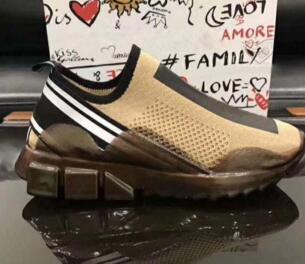 Moda uomo scarpe casual tessuto jersey elasticizzato maglia sneaker slip-on Sorrento scarpe uomo traspirante micro suola in gomma traspirante xz01
