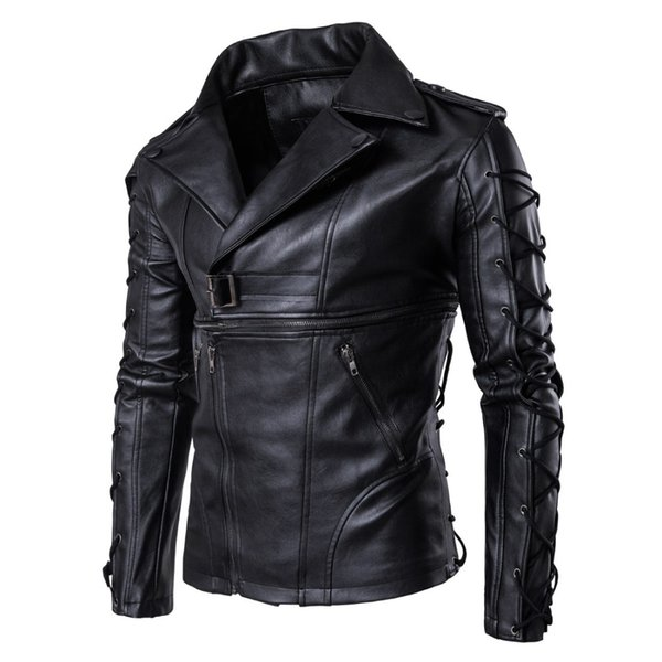 Mens Leather Jackets High Quality Classic Motorcycle Bike Cowboy Jacket Male Waterproof Windbreak Coats Brand Clothing 5XL