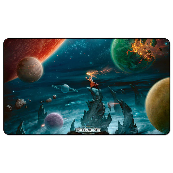 Magic Board Game Playmat:Time Reverse 60*35cm size Table Mat Mousepad Play Matwitch fantasy occult dark female wizard